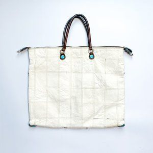 GABS Leather Convertible Tote Bag